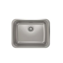 ProInox E200 Single Bowl Undermont Kitchen Sink ProInox E200 18-gauge Stainless Steel, 23'' x 17'' x 9''