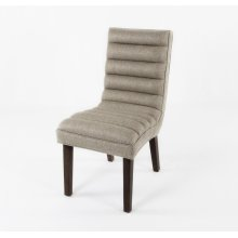 Channel back chair