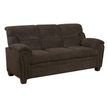 Clementine Casual Brown Sofa