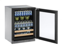 2000 Series 60 Cm Drinks Cabinet With Integrated Frame Finish and Field Reversible Door Swing (220-240 Volts / 50 Hz)
