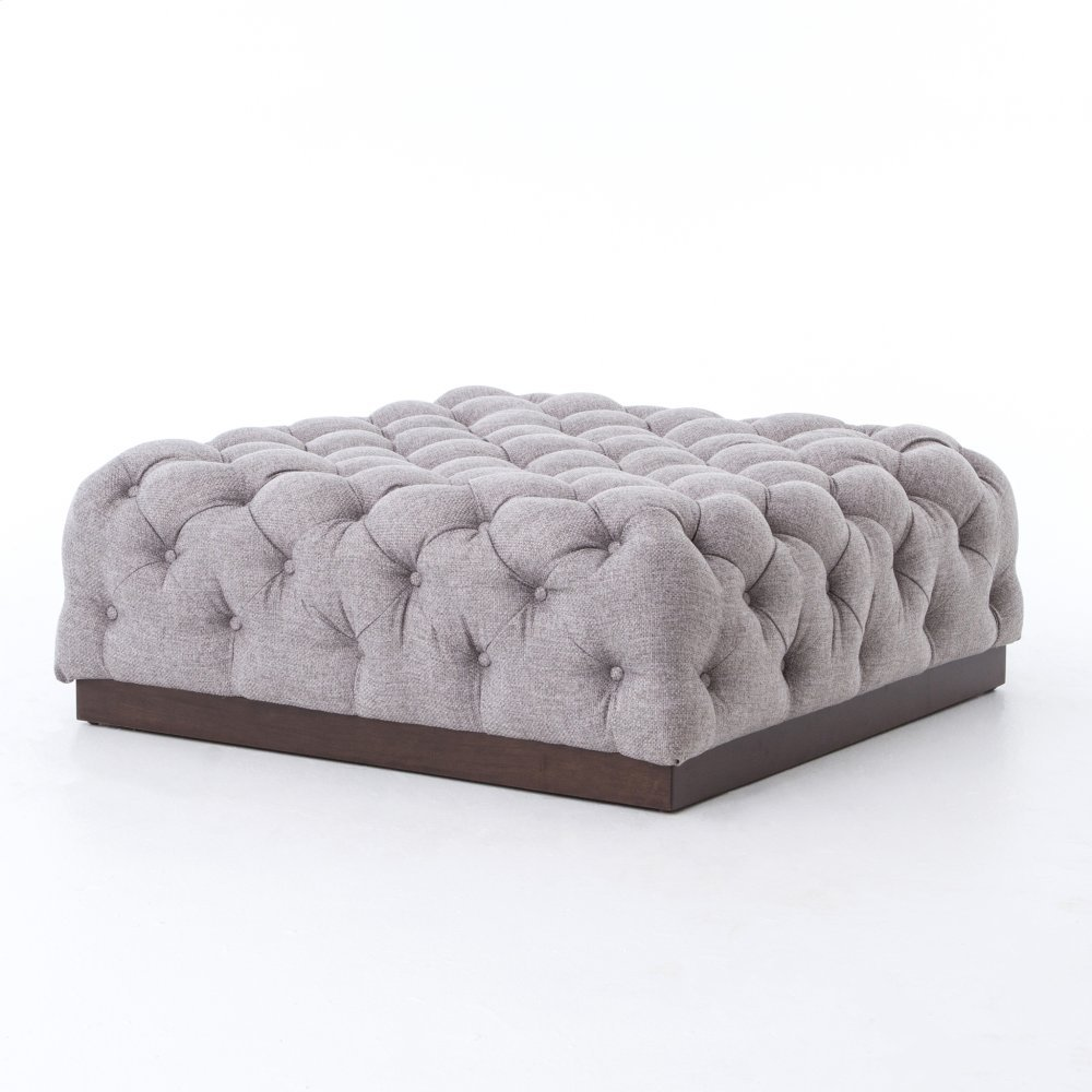 Plateau Cocktail Ottoman-chess Pewter