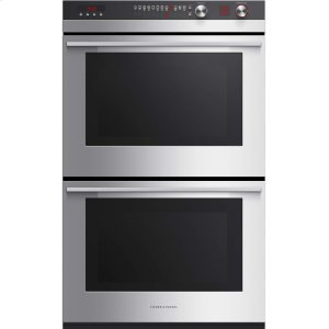"Fisher & PaykelDouble Built-in Oven 30"", 4.1 + 4.1 cu ft, 11 Function"