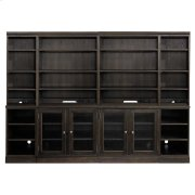 """Peppermill Commonwealth 96"""" Credenza with Hutch Product Image"""