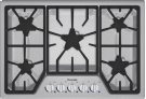 30 inch Masterpiece® Series Gas Cooktop SGS305FS Product Image