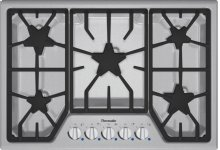 30 inch Masterpiece® Series Gas Cooktop SGS305FS