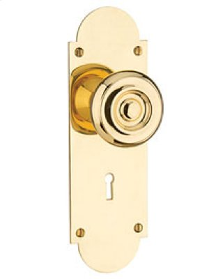 Newtown Colonial Knob Set - Privacy ( Passage TL w/ Mortise Bolt , 2-3/8 BS)