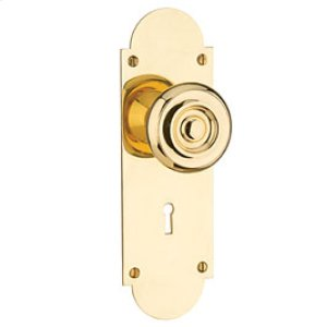 Newtown Colonial Knob Set - IML Bit Key Privacy