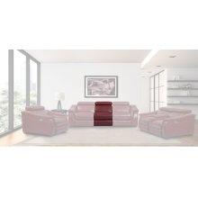 Newton Crimson Armless Chair