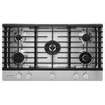 Kitchenaid36'' 5-Burner Gas Cooktop - Stainless Steel