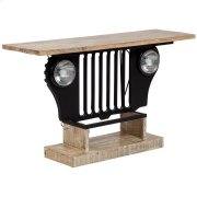 Highway Jeep Console Table, 3438 Product Image