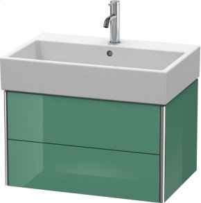 Vanity Unit Wall-mounted, For Vero Air # 235070jade High Gloss Lacquer