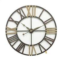 Metal Wall Clock, Multi