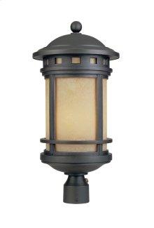 "11"" Post Lantern in Oil Rubbed Bronze"