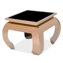 Pietro End Table Rose Gold