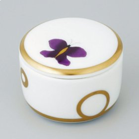 Porcelain Round Pill Box 55 Mm