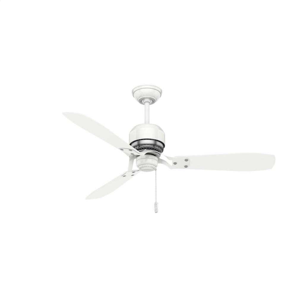 Tribeca 52 inch Ceiling Fan  SNOW WHITE