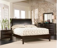 Queen 4 Piece Bedroom Set (Queen Bed,NS,DR,MR)