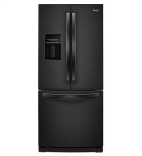 "19.6 cu. ft. 30"" French Door Refrigerator with Exterior Water Dispenser"