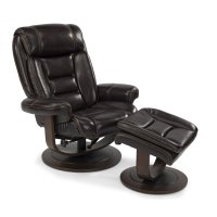 Hunter Leather Chair and Ottoman Product Image