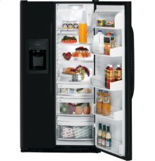 GE® Counter-depth 22.7 Cu. Ft. Side-By-Side Refrigerator with Dispenser