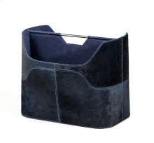 Anja Magazine Rack - Denim