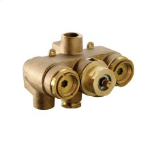 "3/4"" Thermostatic Mixing Valve (Rough Valve only) - No Color"