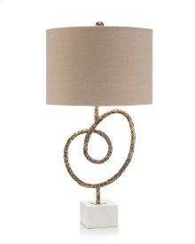 Antique Brass Knot Table Lamp