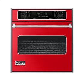 "Racing Red 27"" Single Electric Touch Control Premiere Oven - VESO (27"" Wide Single Electric Touch Control Premiere Oven)"