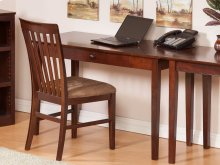 Shaker Desk with Drawer in Walnut