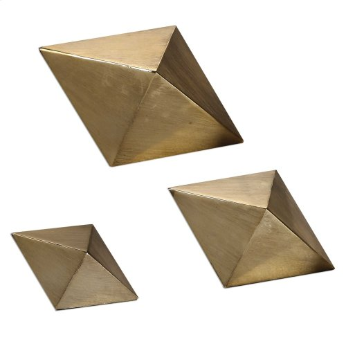 Rhombus Sculptures, S/3
