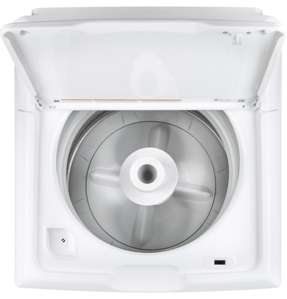 GE(R) 4.2 DOE cu. ft. Capacity Washer with Stainless Steel Basket