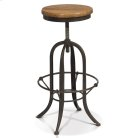 Deon - Industrial Adjustable Counter/bar Stool Product Image
