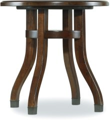 Palisade Round End Table