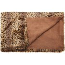 "Fur N9371 Brown 50"" X 70"" Throw Blanket Product Image"