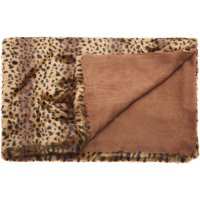 "Fur N9371 Brown 50"" X 70"" Throw Blankets Product Image"