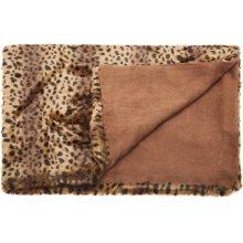 """Fur N9371 Brown 50"""" X 70"""" Throw Blankets"""