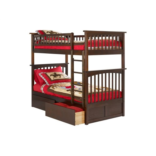 Ab55144 In By Atlantic Furniture In St Albans Vt Columbia Bunk
