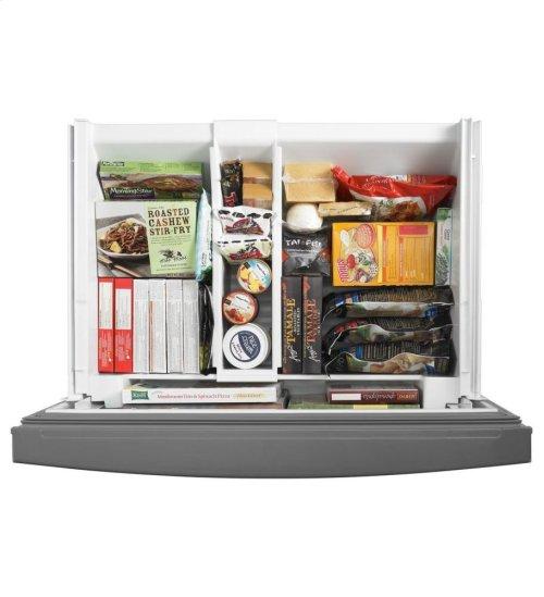 27 Cu. Ft. Standard-Depth French Door Refrigerator, Architect® Series II - Monochromatic Stainless Steel