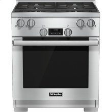 HR 1124 G 30 inch range All Gas with DirectSelect, Twin convection fans and M Pro dual stacked burners