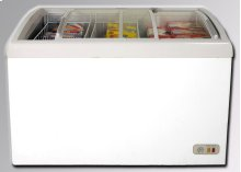 8.6 Cu. Ft. Commercial Glass Top Display Chest Freezer