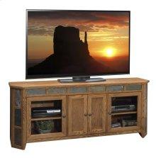 "Oak Creek 72"" Angled TV Console"