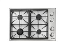 "30""Heritage Pro Gas Cooktop-SS Liquid Propane High Alt."