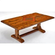 Mustang Canyon Timber Frame Table - 6′-8′ - 6′ Product Image