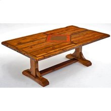Mustang Canyon Timber Frame Table - 6′-8′ - 7′