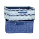 Nightstand Baskets, 2-Pack - Blue Scales and Chambray Product Image