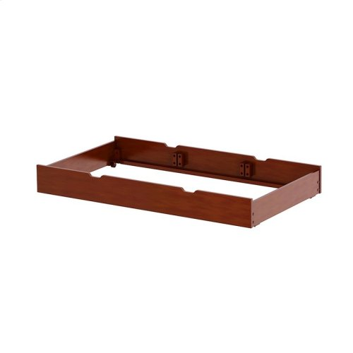 Trundle Bed Frame Only (excl. Slat Roll) : Chestnut