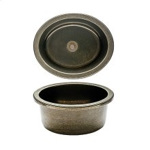 Oval Bar Sink - SK315 Silicon Bronze Brushed