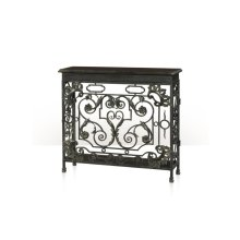 The Napoleonic Wrought Console Table