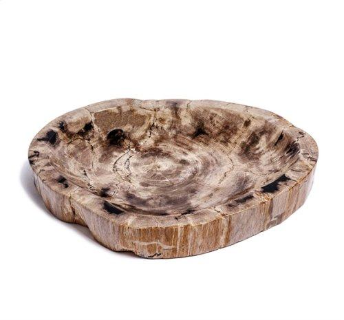 Kaya Petrified Wood Bowl