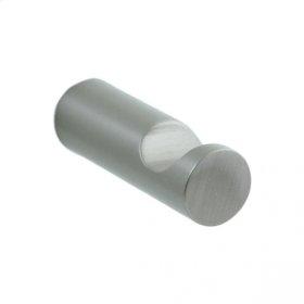 Techno - Robe Hook - Brushed Nickel